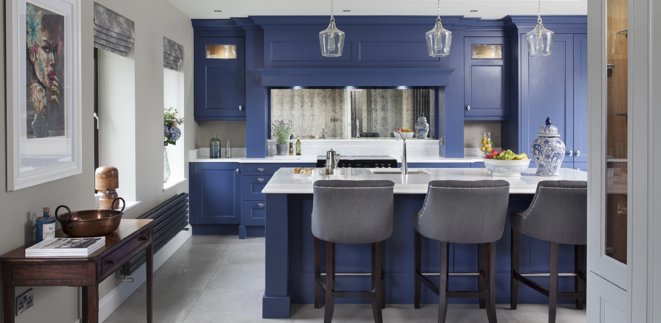 Greenhill Kitchens, County Tyrone, Northern Ireland » Modern Classic  Painted Kitchens