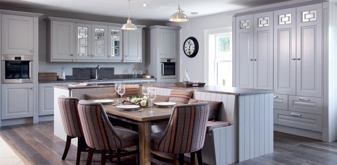 Classic Contemporary Kitchen Greenhill Kitchens County Tyrone Northern Ireland