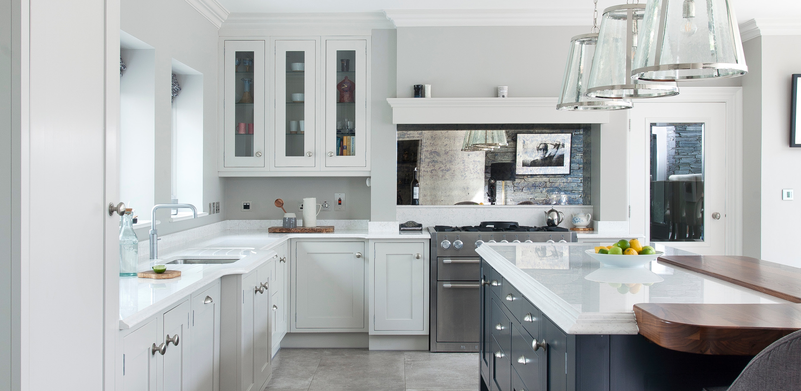 Classic Contemporary Kitchen Greenhill Kitchens County Tyrone Northern Ireland » Modern