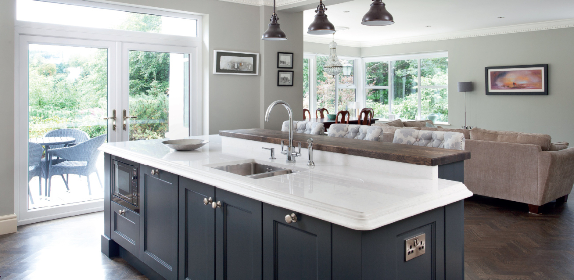 Modern Classic Kitchen greenhill kitchens, county tyrone, northern ireland » private