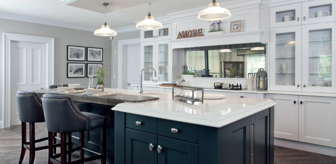 Classic Contemporary Kitchen greenhill kitchens, county tyrone, northern ireland » greenhill