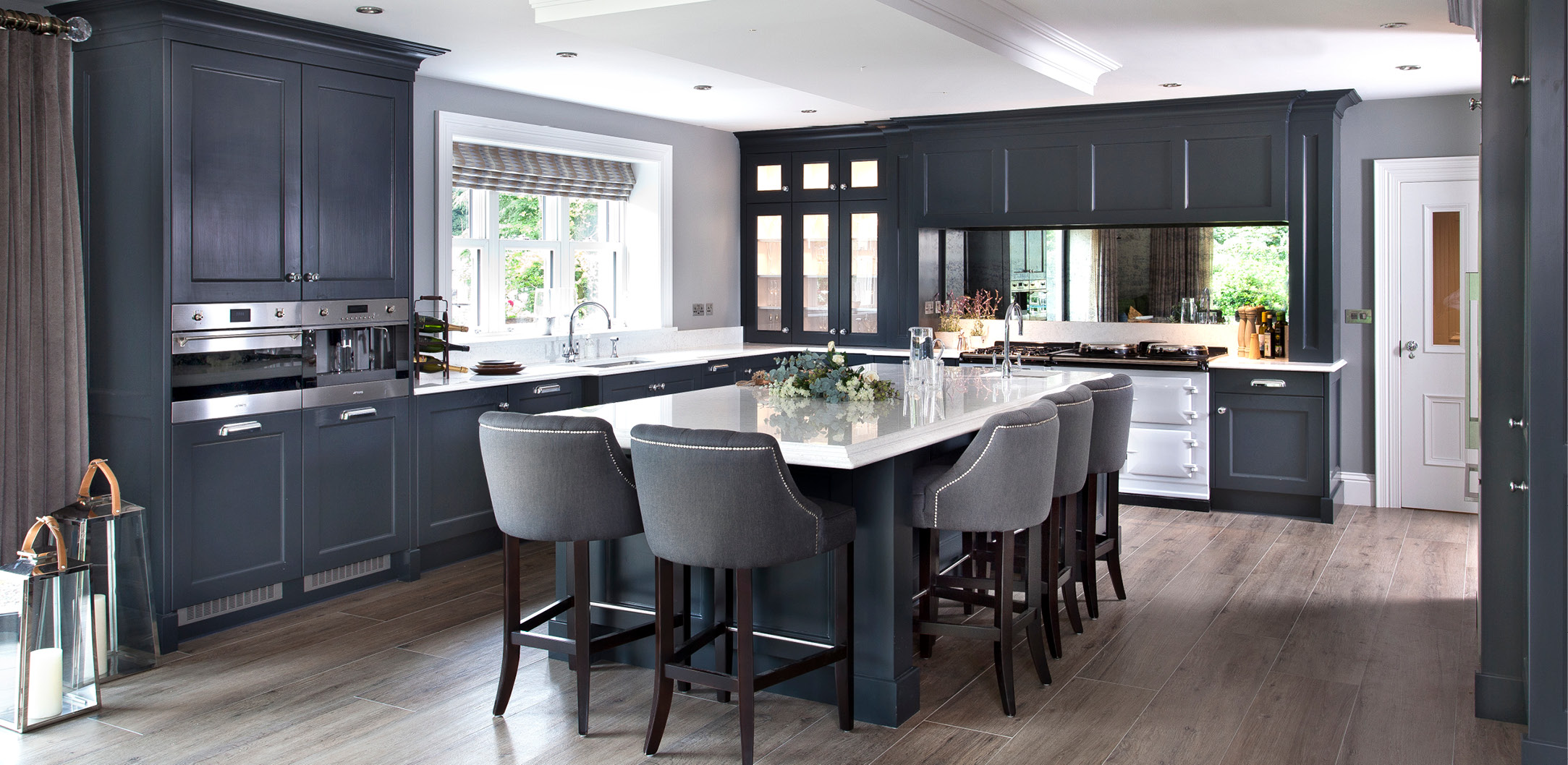 Modern Classic Kitchen, Omagh1